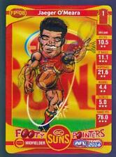 2014 Teamcoach Footy Pointers Card - Jaeger O'Meara