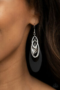 """Paparazzi ~ """"Ambitious Allure"""" Black Earrings ~ 🔥NEW RELEASE 2021🔥 ~ *WOW*"""
