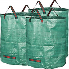 GardenMate pack of 3 large 272L garden waste bags H76 cm, D67 cm