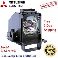 915B441001 Replacement TV Lamp Housing For Mitsubishi WD82738 WD65C10 WD73638