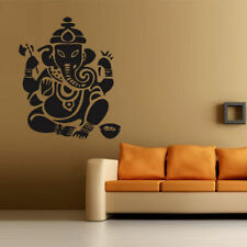 Wall decal Ganesh Buddhism India Indian namaste Buddha OM Yoga success god m72