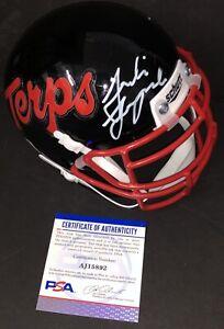 Taulia Tagovailoa Signed Autographed Maryland Terrapins Mini Helmet Psa/Dna