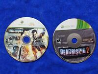 USED - Dead Rising 1 + 2 - Microsoft Xbox 360 - Lot of 2 Bundle