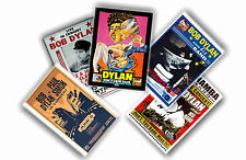 BOB DYLAN - LOT DE 5 A4 AFFICHES # 2