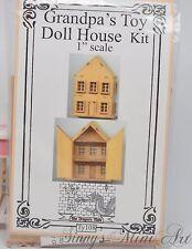 Toy Dollhouse Kit/ DIY Dollhouse Miniatures/ Dollhouse Kit DI TY108