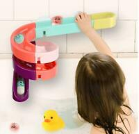 DIY Baby Bathroom Bath Water Playing Toys Wall Suction Cup Orbits Track Kids Toy