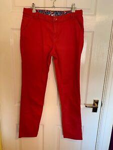 Red Denim Debenhams Red Herring Jeans Size 12 (A4099)