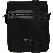 Mens Guess Black Cross Body Bag RRP £69.99