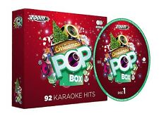 Zoom karaoke noël pop box 4 disc party pack cd + g neuf scellé