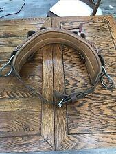 Large Klein Buhrke Model 5249 N 26 Leather Linemans Belt