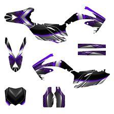 2010 2011 2012 2013 CRF 250 R graphics Honda 250R sticker kit NO7777 Purple