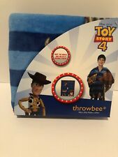 Disney Pixar Toy Story 4 Throwbee Blanket Throw Woody