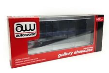 INTERLOCKING 6 CARS DISPLAY SHOW CASE FOR 1/64 MODEL CARS BY AUTOWORLD AWDC003