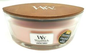 NEW Woodwick COASTAL SUNSET Scented Candle 16 oz crackles as it burns