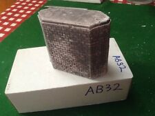 Brick Style Bridge support pier  -urban Style OO Scale HO Scale 70mm Pre Painted