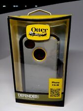 iPhone 4S 4 Otterbox case Defender Series with Holster Clip Retail package New