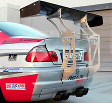 "BMW E46 M3 00-06 Chassis Mount DTM Race Spoiler Wing FRP  66"" Bash Bar Drift"
