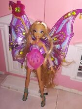 Winx Club Flora Enchantix Mattel Flying Pixie doll Super Rare HTF 2007