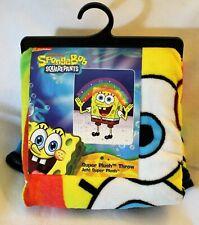 Nickelodeon Sponge Bob Square Pants Rainbow Bikini Bottom Show Throw Blanket