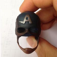 "1/6 Scale Captain America Helmet Hat Cap For 12"" Figure Hot Toys"