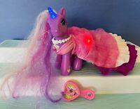 Hasbro My Little Pony Lily Lightly Princess Unicorn Light Up Pony G3 Vintage MLP