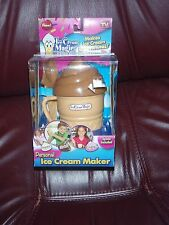 Brand New As Seen On TV Ice Cream Magic Personal Ice Cream Maker BROWN/CHOCOLATE