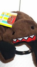 DOMO BEANIE HAT DARK BROWN ONE SIZE  NEW WITH TAGS LIMITED EDITION