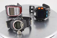 FOR PARTS & OR REPAIR 3 WRIST WATCHES FORERUNNER 305, ALTIMETER & SPYNET 2896