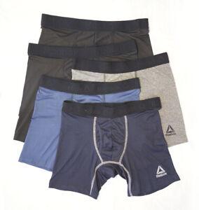 NEW Reebok 5 Pack Mens Guyfront Quick Dry Fit Trunks Underwear size M-2XL