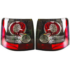 RANGE ROVER SPORT NEW REAR LED TAIL LIGHTS GENUINE UPGRADE LAMPS - BLACK INSERTS