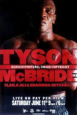 MIKE TYSON vs. KEVIN McBRIDE / Original SHOWTIME PPV Boxing Fight Poster