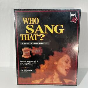Jigsaw Puzzle And Game Quiz Song And Singer Match Famous Songs With Artists New