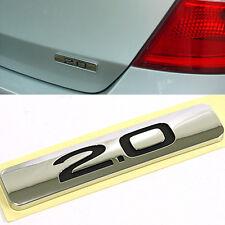 OEM Genuine Parts 2.0 Logo Rear Trunk Emblem for HYUNDAI 2008-2012 i30 / i30cw