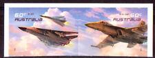 AUSTRALIA 2011 AUSTRALIAN AIR FORCE SELF/AD SET 2 UNMOUNTED MINT, MNH