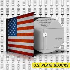 U.S.A. PLATE BLOCKS STAMP ALBUM PAGES 1901-2011 (789 pages)