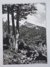 Postkarte Papier Jeschken bei Reichenberg Abreiskarte m. Perforation ungelaufen
