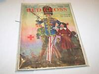 APRIL 1918 RED CROSS magazine NORMAN ROCKWELL Uncle Sam