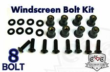 Windscreen BLACK Bolts Windshield Bolt Kit Honda CBR600RR 03 04 05 06 07 08 09