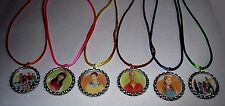 15 FRESH BEAT BAND PARTY SUPPLY  BOTTLE CAP FAVORS NECKLACE WITH COLOR  CORDS