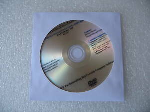 DELL Inspiron 1501 640 6400 E1505 9400 E1705 Drivers CD DVD Disc