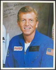 S944) loren shriver piloto STS 51-c nasa Photo 20,5 x 25,5 cm autógrafo Autograph