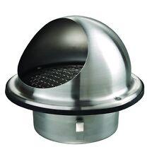 Wetterschutzgitter Lüftungsgitter 150 mm Kugelform aus Edelstahl V2A
