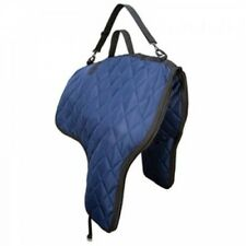 Weaver Western Quilted Saddle Carrying Bag for Travel and Storage, Navy