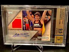 2015 Topps UFC Knockout Graded Gem Mint 9.5 Relic Autograph- AMANDA NUNES