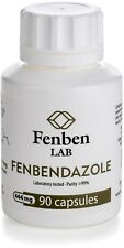 Fenbendazol 444mg, Purity >99% Fenben Lab, Third-Party Test Results, 90 capsules