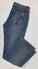 Hurley Freedom Women's Bootcut Embroidered Distressed Jeans Size 7 (30 x 31)