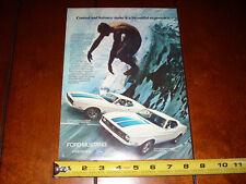 1972 FORD MUSTANG SPRINT - SURFER - ORIGINAL AD