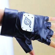 FD4288 Naruto Kakashi Hatake Gloves Ninja Weapon Kunai Itachi Sasuke Anime Pair*