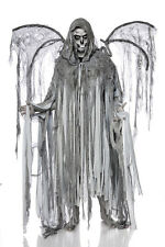 Sexy Halloween Men's Custome Angel of Death One Size Mantle+Wings Set