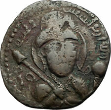 Urtukids of Kayfa & Amid Ancient Original 1185Ad Sukman Ii Islamic Coin i79760